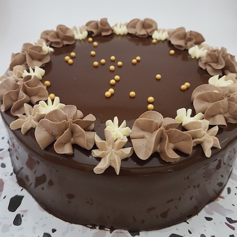 Dark Chocolate Whole Cake