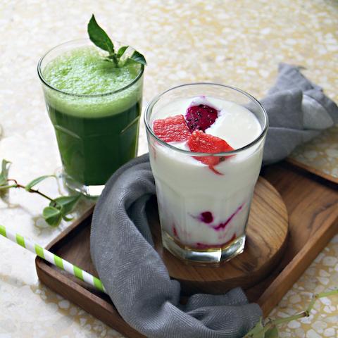 Dragonfruit Yoghurt
